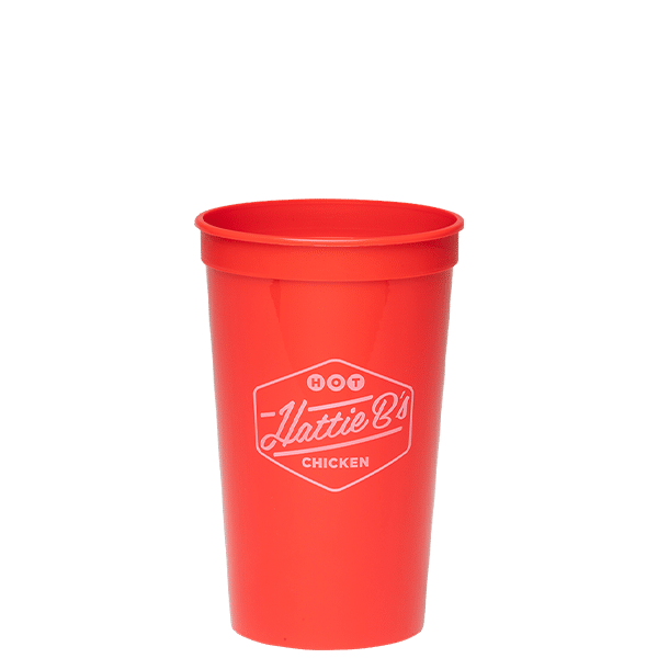 A photograph with label of the D2251 Drink Cup